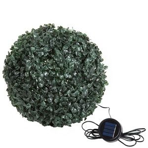 Pure Garden Solar-Powered LED Artificial Topiary